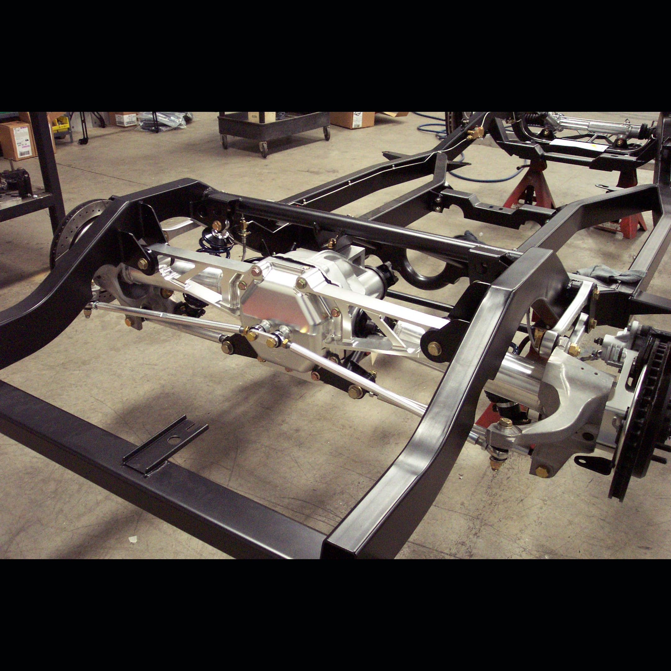 C4 Corvette Bellhousing Removal: 1953-1962 C1 Replacement Chassis