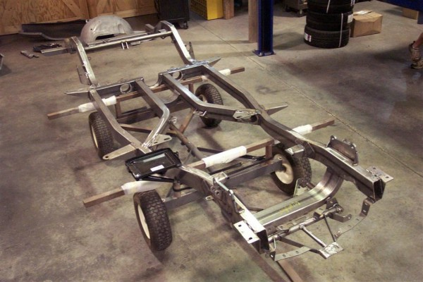 1953-1962 C1 Replacement Chassis - FrontPageFeatured