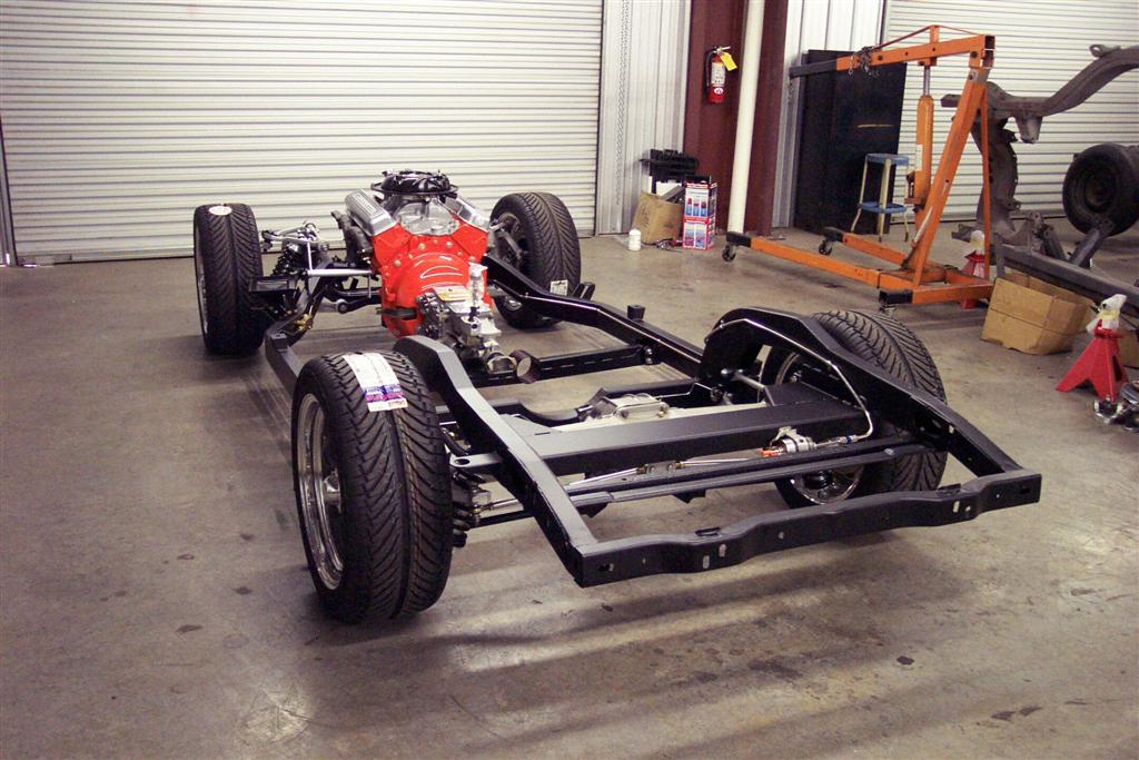 1963-1967 c2 replacement chassis