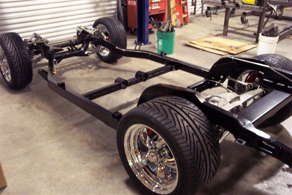 1963-1967 C2 Replacement Chassis - Chassis Packages