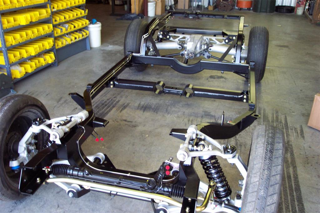 1968-1982 C3 Replacement Chassis - Chassis Packages