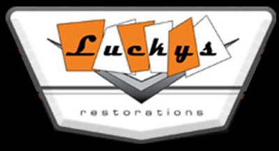 Luckys Restorations Logo